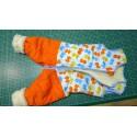 Schlafsack mit Bein Schurwolle Gr 80