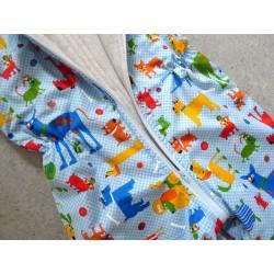 Schlafsack mit Beinen Gr 98