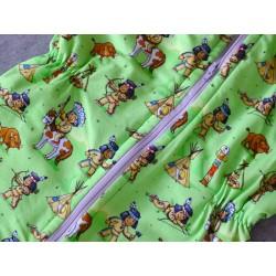 Schlafsack mit Beinen Gr 110
