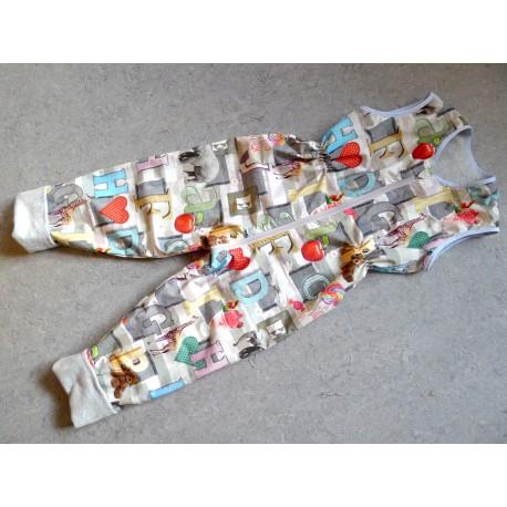 Schlafsack mit Beinen Gr 104