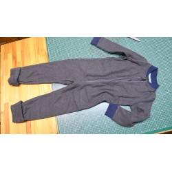 Schlafsack Overall mit Beinen Gr 116