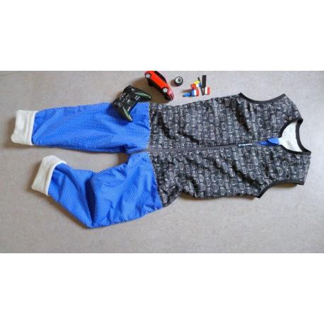 Schlafsack mit Beinen Gr 140