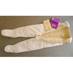 Wollschlafsack mit Beinen Gr 134