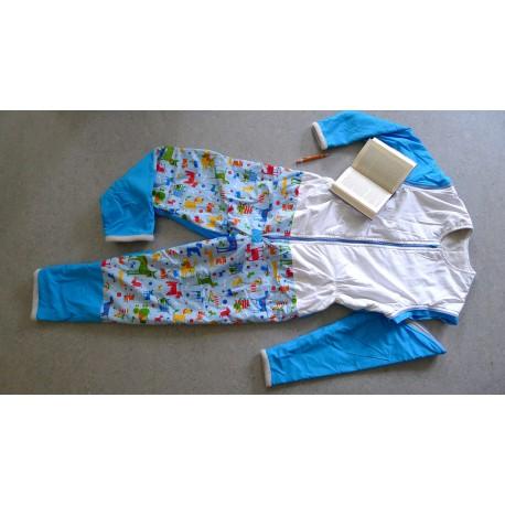 Schlafsack mit Beinen und abnehmbaren Ärmeln Gr 170