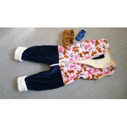 Bio Nicki Schlafsack mit Beine