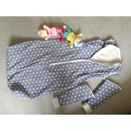 Schlafsack Bio-Baumwolle mit Ärmel