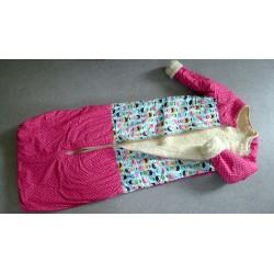 Wollschlafsack mit Ärmel...