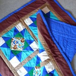 Baumwolldecke Sterne 100x140